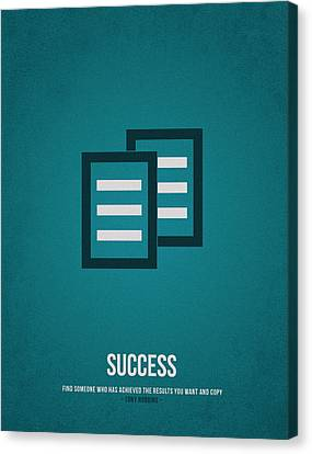 Success Canvas Print by Aged Pixel