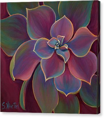 Succulent Delicacy Canvas Print by Sandi Whetzel