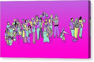 Suceso Canvas Print by Lino Divas