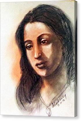 Suchitra Sen Canvas Print