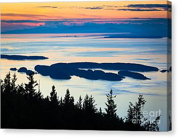 Sucia Island Canvas Print by Inge Johnsson