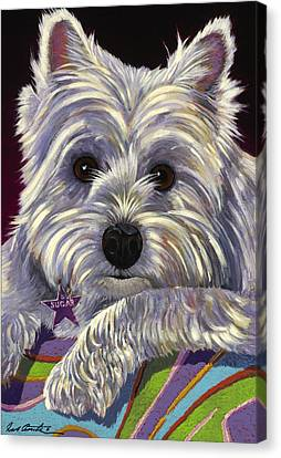 Sugar Canvas Print by Bob Coonts