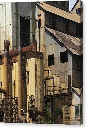Sugar Factory Canvas Print by David Hansen