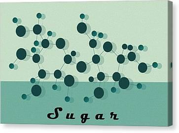 Sugar Canvas Print by Kate Paulos