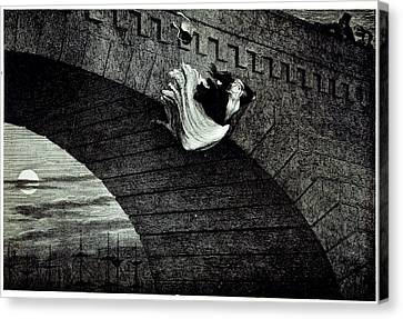 Suicide Canvas Print by British Library