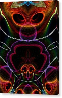 Canvas Print featuring the digital art Suile Ciallmhar by Owlspook