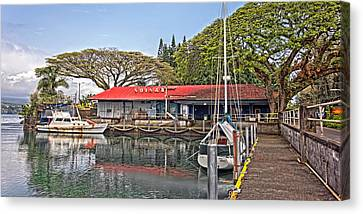 Suisan Fish Market Canvas Print