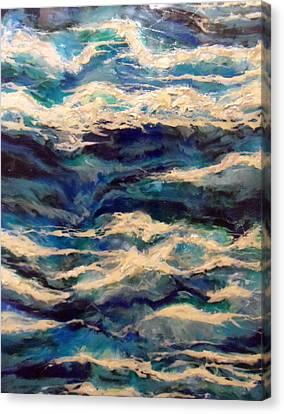 Suite Madam Blue Canvas Print