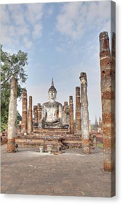 Sukhothai Historical Park - Sukhothai Thailand - 011331 Canvas Print by DC Photographer