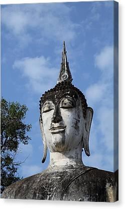 Sukhothai Historical Park - Sukhothai Thailand - 011334 Canvas Print by DC Photographer