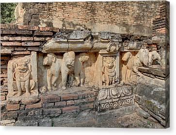 Sukhothai Historical Park - Sukhothai Thailand - 011345 Canvas Print by DC Photographer