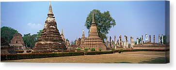 Sukhothai Historical Park Thailand Canvas Print by Panoramic Images