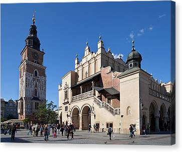 Sukiennice, The Renaisssance Cloth Hall Canvas Print by Panoramic Images