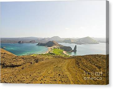 Sullivan Bay And Pinnacle Rock Canvas Print by William H. Mullins