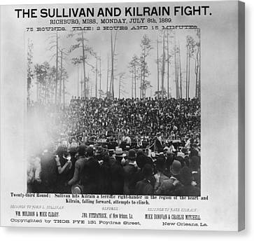 Sullivan Canvas Print - Sullivan Vs by Granger