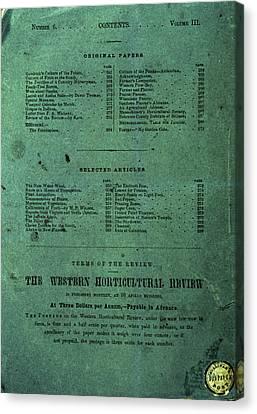 Sullivan's Dispatch Post (cincinnati) Canvas Print by Granger