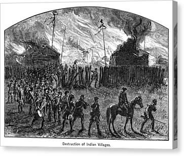 Sullivans March, 1779 Canvas Print by Granger