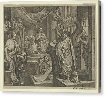 Sullivans Paul Before Felix Canvas Print by After William Hogarth