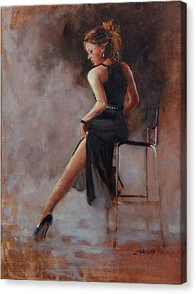 Sultry Canvas Print by Laura Lee Zanghetti