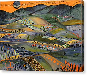 Sumadija Canvas Print