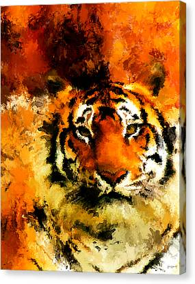 Sumatran Canvas Print by Lourry Legarde