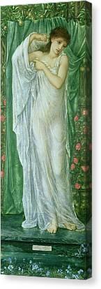 Summer Canvas Print by Sir Edward Coley Burne-Jones