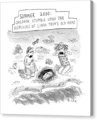 'summer 2000' Canvas Print