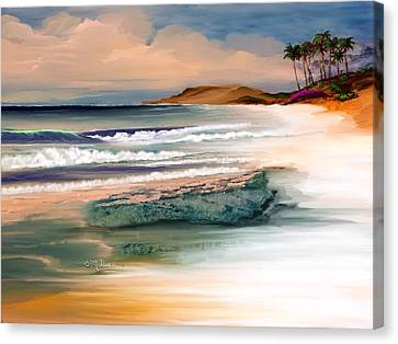 Summer Canvas Print by Anthony Fishburne