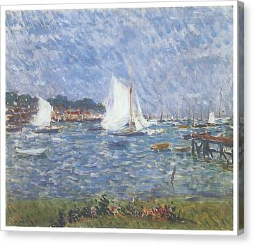 Summer At Cowes Canvas Print by Philip Wilson Steer