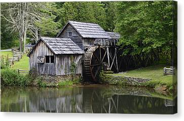 Summer At Mabry Mill Canvas Print by Willis Jones