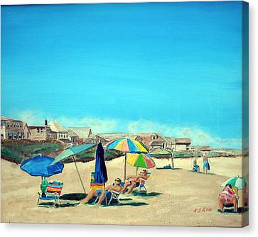 Summer At Salisbury Beach Canvas Print