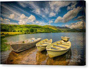 Summer Boating Canvas Print by Adrian Evans