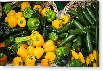 Canvas Print featuring the photograph Summer Bounty by Wayne Meyer