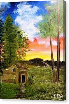 Summer Breeze Canvas Print by The GYPSY And DEBBIE