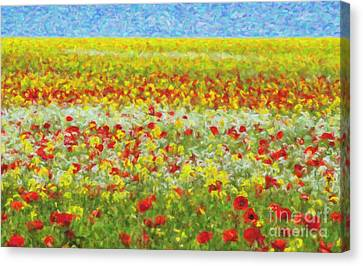 Summer Breeze Canvas Print by Tim Gainey