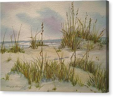 Summer Breezes Canvas Print by Cheryl Borchert