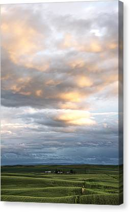 Summer Clouds Canvas Print