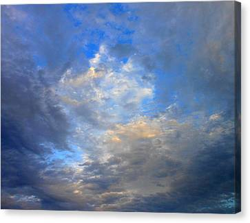 Summer Clouds Canvas Print by Kay Gilley