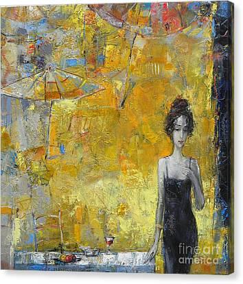 Canvas Print - Summer Cocktail Hour by Grigor Malinov