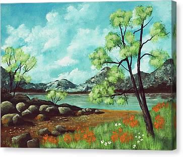 Season Canvas Print - Summer Day by Anastasiya Malakhova