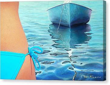 Summer Days Canvas Print by Miki Karni