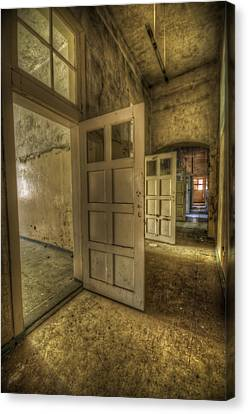Summer Doors Canvas Print by Nathan Wright