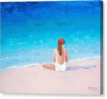 Summer Dreams Canvas Print by Jan Matson