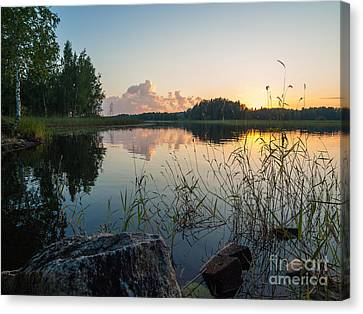 Summer Evening To Remember Canvas Print