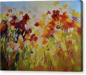 Summer Field Canvas Print by Yvonne Ankerman