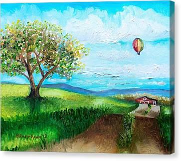 Summer Flight 2 Canvas Print by Shana Rowe Jackson