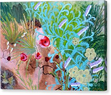 Summer Flowers Canvas Print by Olga R
