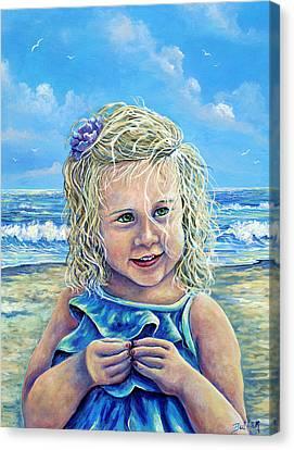 Summer Canvas Print by Gail Butler