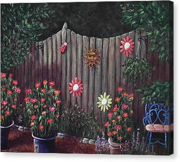 Summer Garden Canvas Print by Anastasiya Malakhova