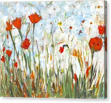 Summer Garden Canvas Print by David Dossett